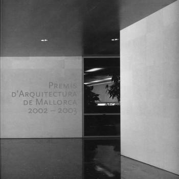 premis d'arquitectura de mallorca 2002 2003